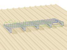 Skybridge2 Aluminium Walkway Kit [6-14 degrees] - 600mm x 6,000mm - No Handrail