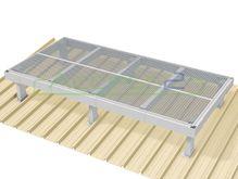 Access2 Engineered Modular Aluminium Platform Kit [6-10 degrees] - 1.2m x 2.4m