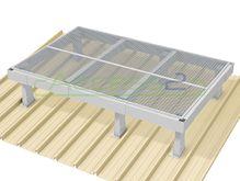 Access2 Engineered Modular Aluminium Platform Kit [6-10 degrees] - 1.2m x 1.8m