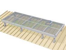 Access2 Engineered Modular Aluminium Platform Kit [6-10 degrees] - 1.2m x 3.0m