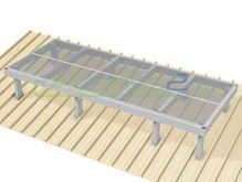 Access2 Engineered Modular Aluminium Platform Kit [11-15 degrees] - 1.2m x 3.0m