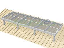 Access2 Engineered Modular Aluminium Platform Kit [11-15 degrees] - 1.2m x 3.6m