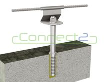 Connect2 Ballast Roof Concrete Fixed Intermediate Assembly