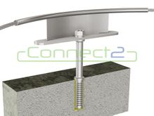 Connect2 Ballast Roof Concrete Corner Assembly
