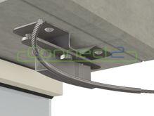 Connect2 Concrete Overhead Lifeline Corner Assembly