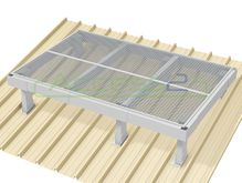 Access2 Engineered Modular Aluminium Platform Kit [11-15 degrees] - 1.2m x 1.8m