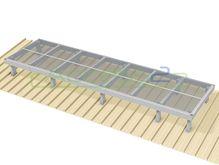 Access2 Engineered Modular Aluminium Platform Kit [6-10 degrees] - 1.2m x 4.2m