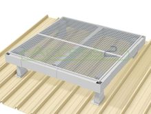 Access2 Engineered Modular Aluminium Platform Kit [6-10 degrees] - 1.2m x 1.2m
