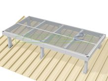 Access2 Engineered Modular Aluminium Platform Kit [11-15 degrees] - 1.2m x 2.4m
