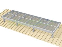Access2 Engineered Modular Aluminium Platform Kit [6-10 degrees] - 1.2m x 3.6m