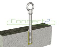 Connect2 Ballast Roof Concrete End Anchor
