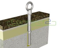 Connect2 Ballast Roof Concrete Fix Anchor (Custom)
