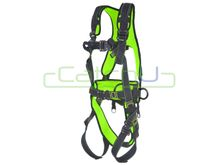 CatchU Premium Padded Full Body Harness with Front and Rear Fall Arrest Attachment Points, Quick Release Buckles, Waist Belt and Lateral D Rings