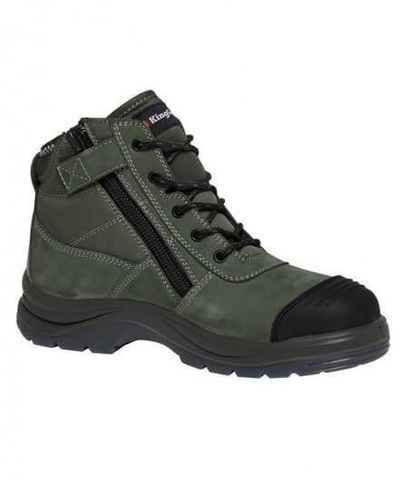 KING GEE K27100 L/UP KH SAFETY BOOT