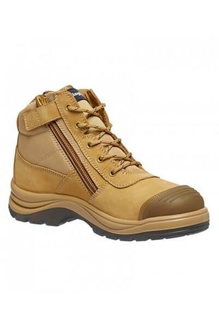KING GEE K27100 L/UP WHT SAFETY BOOT