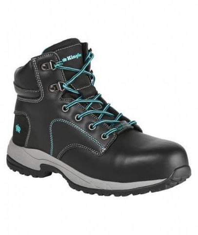 KING GEE K27360 WOMENS L/UP SAFETY BOOT