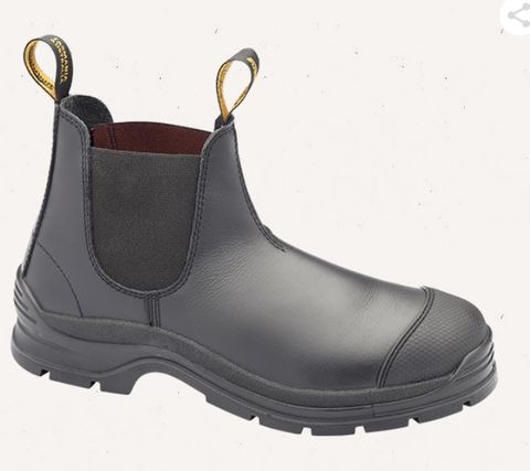 BLUNDSTONE LEATHER SLIP ON