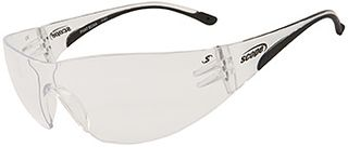 SAFETY GLASSES PHAT BOXA A/FOG H/COAT LARGE CLEAR