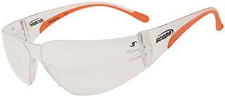 SAFETY GLASSES MINI BOXA A/FOG H/COAT SMALL CLEAR
