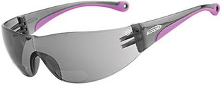 SAFETY GLASSES MAXVUE BY-FOCAL 1.0 SMOKE