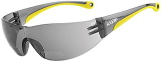 SAFETY GLASSES MAXVUE BY-FOCAL 2.5 SMOKE