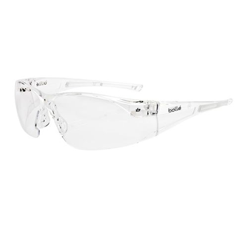 SAFETY GLASSES BOLLE RUSH CLEAR LENS