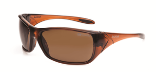 SAFETY GLASSES BOLLE VOODOO BROWN POLARISED
