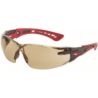 SAFETY GLASSES BOLLE RUSH PLUS SMOKE