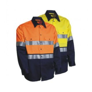 TRU WORKWEAR DS2112T TAPED SHIRT