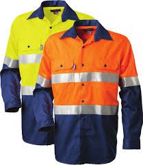 TRU WORKWEAR DS2166T TAPED SHIRT
