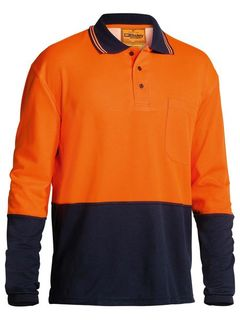 BISLEY BK6234 LONG SLEEVE POLO SHIRT