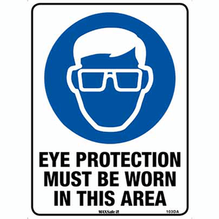 SIGN EYE PROT.MUST BE WORN 300x225 POLY