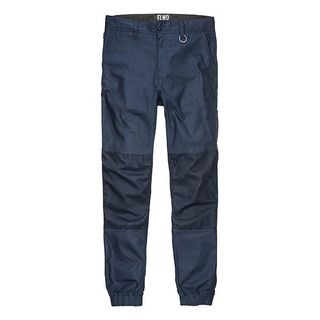 TROUSER ELWD CUFFED NAVY
