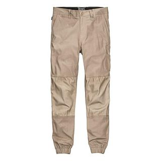 TROUSERS ELWD CUFFED STONE
