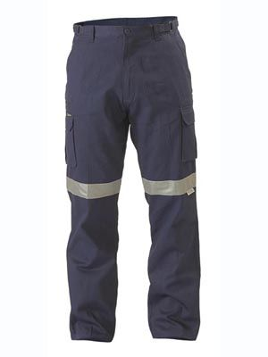 BISLEY TAPED CARGO TROUSERS