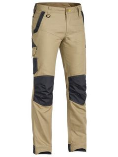 BISLEY BPC6130 KHAKI FLEX AND MOVE STRETCH PANT