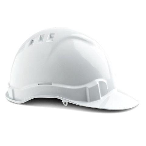 HARD HAT VENTED V6 WHITE