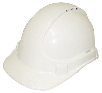 SAFETY CAP UNISAFE VENTED WHITE