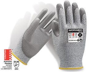GLOVE CUT 5 FORCE360 WORX EN4543 SIZE 8