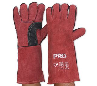 GLOVE WELDING RED KEVLAR