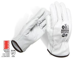 GWORX 600 LEATHER RIGGERS GLOVES