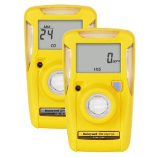 BW CLIP SINGLE GAS DETECTOR 3 YEAR H2S 10-15