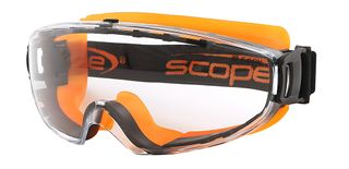 GOGGLE VELOCITY EXTREME A/FOG H/COAT CLEAR