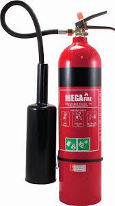 EXTINGUISHER CO2 5kg ALUMINIUM