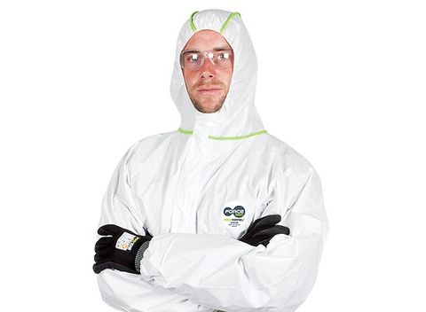 DISPOSABLE COVERALL MAXREPEL+ 4,5,6 SIZE XL