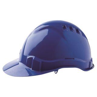 HARD HAT VENTED V6 BLUE