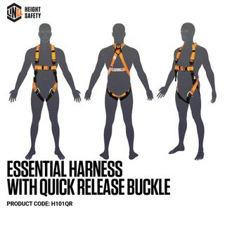 HARNESS LINQ ESSENTIAL QUICK RELEASE BUCKLE