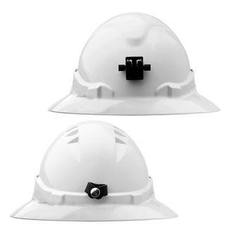 V6 HARD HAT UNVENTED FULL BRIM + LAMP BRACKET RATCHET HARNESS