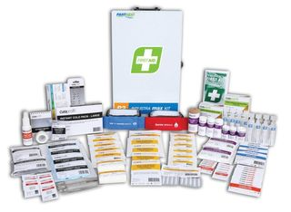FIRST AID INDUSTRA MAX KIT METAL CABINET