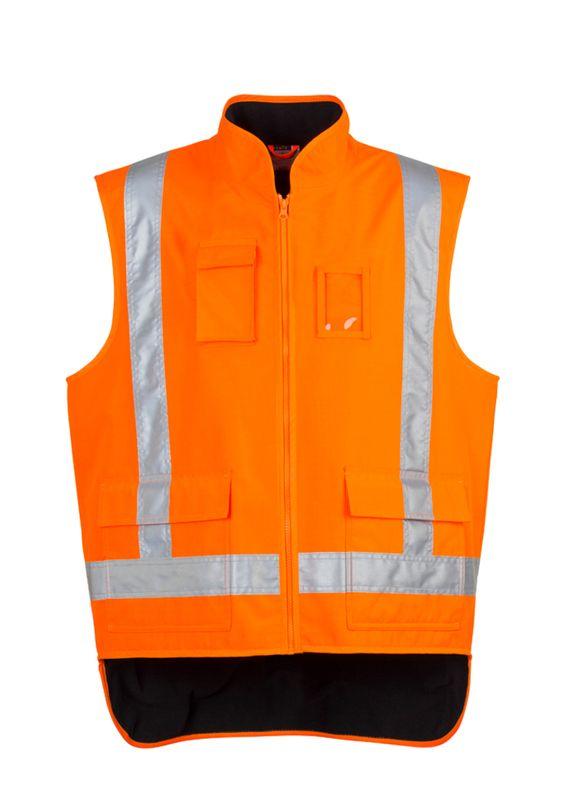Syzmik Mens TTMC-W17 Fleece Lined Vest
